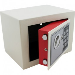 Elektronischer Mini-Tresor lichtgrau CM-12361