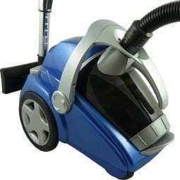 Staubsauger Blau beutellos CM-12542