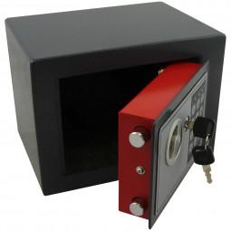 Elektronischer Mini-Tresor schwarz CM-12667