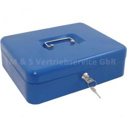 Geldkassette 30cm blau CM-12731