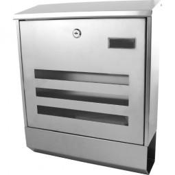 Briefkasten Edelstahl CM-13174