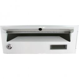 Einbaubriefkastenfach Weiß CM-13187