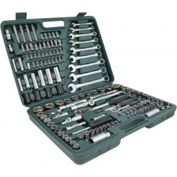 138 teiliges Steckschlüsselset mit Koffer CM-13372