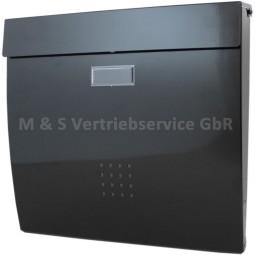 Briefkasten Schwarz CM-13491
