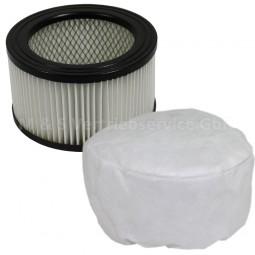 Sparset Vliesfilter und Ersatz- motorfilter CM-13644 für Aschesauger