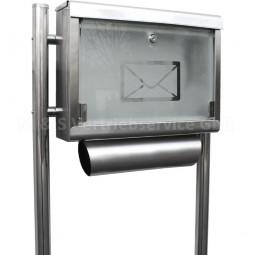 Stand Briefkasten Edelstahl CM-13662