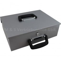 Geldtransportbox hellgrau CM-12362