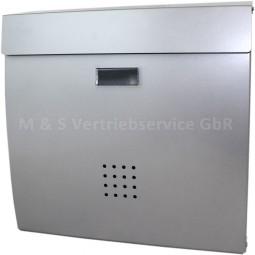 Briefkasten Silber CM-13493