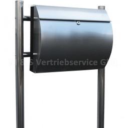 Stand Briefkasten Edelstahl CM-13661